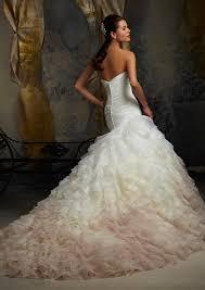 mori wedding dresses mori madeline gardner bridal modern ruffled organza wedding