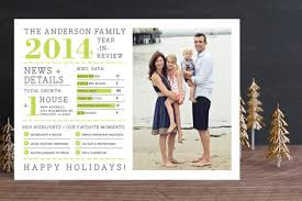 year in review christmas card family year in review photo cards by j bar minted