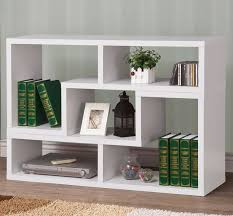 White Bookcase Ideas Bookcases Ideas Modern White Bookcases Bookshelves Allmodern All