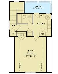 guest house floor plans detached guest house plan 29852rl architectural designs