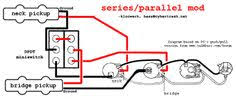series parallel s1 s 1 mod for fender style jazz bass