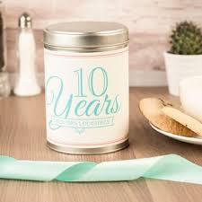 10 year wedding anniversary gifts 10th tin wedding anniversary gifts gettingpersonal co uk