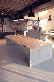 concrete wood table top residence of impermanence concrete table concrete and woods