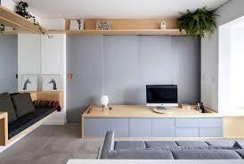small studio apartment by estudio bra interiorzine