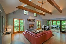 lighting on exposed beams exposed beam ceiling lighting zachary horne homes beautifully