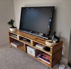 Media Console Table Pallet Media Console Tables Tv Stands Pallet Wood Projects