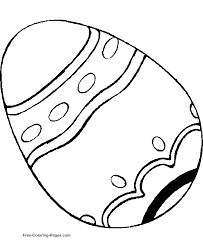oval coloring page easter coloring pages