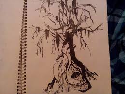 dead willow tree design by soullesadventure on deviantart