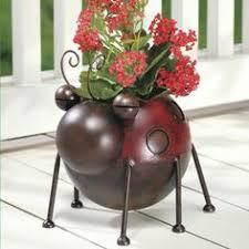 Ladybug Home Decor Ladybug Tin Decor With Painted Raised Ceramic Bodies