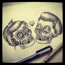 the 25 best skull tattoos ideas on pinterest sugar skull
