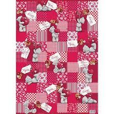 flat wrapping paper me to you pink wrapping paper pink flat wrap