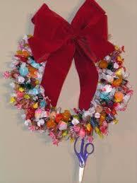 candy wreath christmas candy wreath candy wreath christmas candy and wreaths