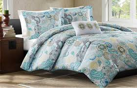 Beachy Comforters Sets Contemporary Bedroom With Yellow Floral Beach Comforter Set