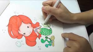 draw mermaid easy step step diy