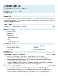 Creating A Resume Online by Glamorous Communication Resume 22 With Additional Create A Resume