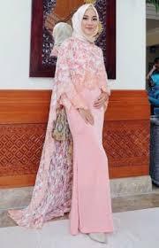 Baju Muslim Brokat 37 model baju muslim brokat kombinasi satin terngehits 2018 model