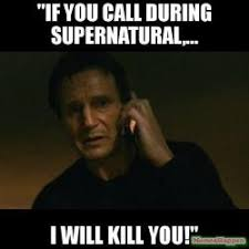 Supernatural Birthday Meme - happy birthday mandy you can run hide but i will find you wish