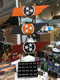 holiday shopping expo vendor spotlight brumley s expressions christmas ornaments cookies for santa plate and glass sets yeti cups earrings wooden home decor license plate tags and drink coasters