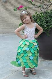 Mermaid Halloween Costume Toddler Sew Easy Homemade Mermaid Costume Kids Book