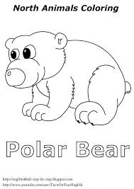 baby polar bear colouring pages coloring pictures color baby