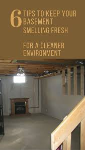 6 tips to keep your basement smelling fresh for a cleaner