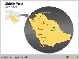 middle east map ppt 24point0 s middle east maps deck for ppt an ideal tool for
