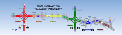 harris county toll road map what commuters need to about the state highway 288 toll