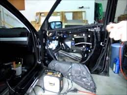 replace bmw e46 door wiring harness youtube