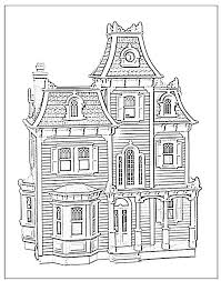 victorian house coloring coloring books
