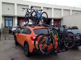 2013 Subaru Forester Roof Rack by Bikes 2013 Subaru Xv Crosstrek Subaru Crosstrek Bike Rack Ideas