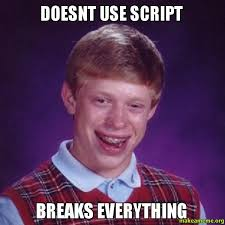 Meme Script - doesnt use script breaks everything make a meme