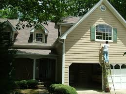 modern concept exterior house painting with exterior home painting