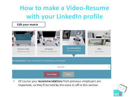 How To Make A Video Resume 100 Online Video Resume Online Video Resume Sites How To Write
