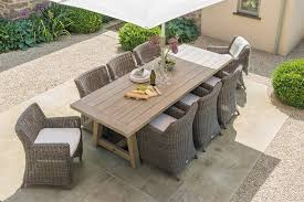 Tuscany Outdoor Furniture by Neptune Tuscany 8 Seater Table Garden Tables