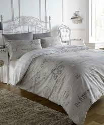 french style script natural paris calligraphy design king duvet