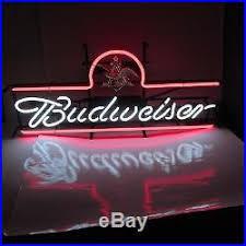 busch light neon sign vintage budweiser beer sign neon lighted large bud usa anheuser