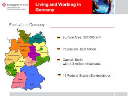 living and working in germany facts about germany surface area
