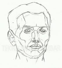 tutorial menggambar orang dengan pensil teknik menggambar wajah manusia teknik menggambar