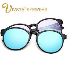 ivstaivsta magnet sunglasses women cat eye sun glasses magnetic