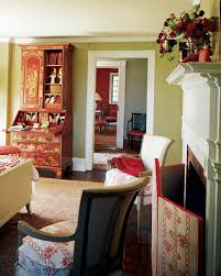 Red Furniture Living Room Red Rooms Martha Stewart