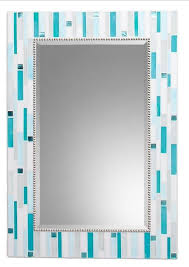 hand crafted mosaic bathroom mirror signature collection by opus