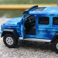jeep light blue benz brabus g63 amg 6x6 1 32 model cars alloy diecast sound u0026light