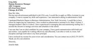 cover letter office assistant cover letter now have a presentable