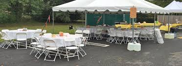 table and chair rentals nj table rental chair rental bergenfield nj