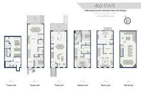 Brooklyn Brownstone Floor Plans Floorplans U2014 465 State