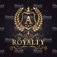 royal brand logo luxury logo vector design eps 10 stock vector art
