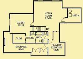 house plans with media room cottage home plans a modern day craftsman classic