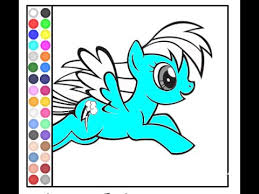 pony coloring pages games coloring pages kids