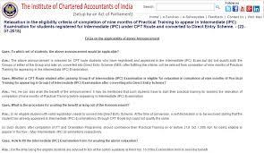 Sample Resume For Ca Articleship Training No Need Of Articleship For Ca Ipcc Exam Via Direct Entry