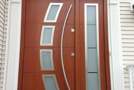 Modern Front Entry Doors In African Mahogany Chad Womack by Top 15 Exterior Door Models And Designs Mostbeautifulthings